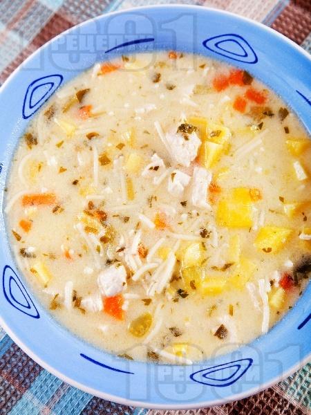 Патешка супа с картофи - снимка на рецептата